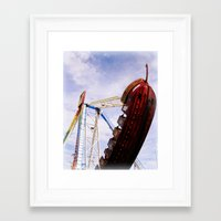 pirate ship Framed Art Prints featuring Pirate Ship by Judith Kimber Photography