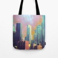dallas Tote Bags featuring Dallas Ya'll by Lynsey Ledray