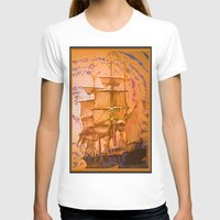 pirate ship T-shirts featuring pirate ship by Vector Art