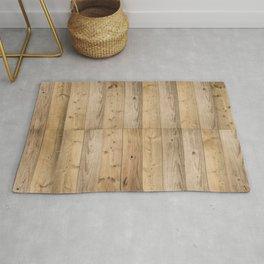 Wood Planks Light Rug
