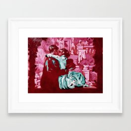Have Fun In Translyvania, Sweetie Framed Art Print