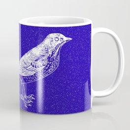 Blue Bird in the Snow Coffee Mug