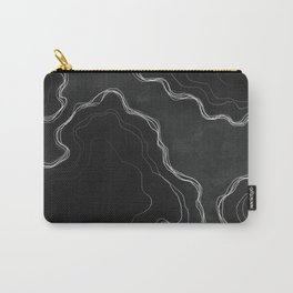 Smokey Lines Carry-All Pouch