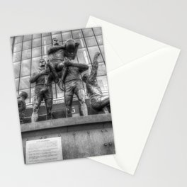 Rugby League Legends statue Wembley stadium Stationery Cards