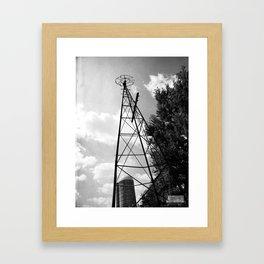 Spin Wheel! Framed Art Print