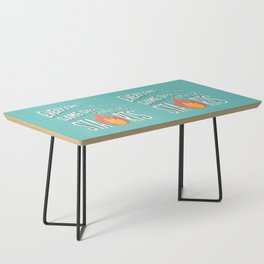 Every fire is the same size when it starts hand lettering typography modern poster design Coffee Table
