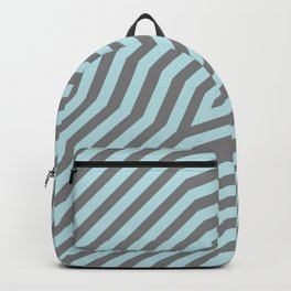 Symmetric diagonal stripes background 20 Backpack