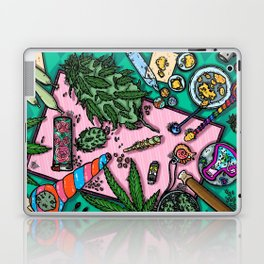 Cannabis Altar I Laptop & iPad Skin