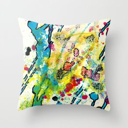 Experiments in Motion-Quad 1-Part 3 Throw Pillow
