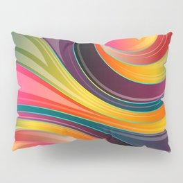 Swirling Wave Pillow Sham