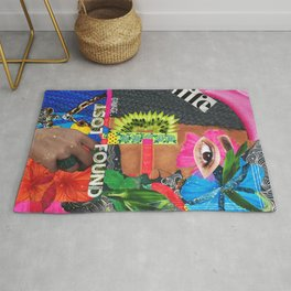 SCATTER-BRAINED Rug