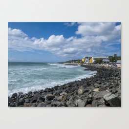 Aguadilla coast Canvas Print