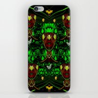 leather iPhone & iPod Skins featuring Leather Heads by Pepita Selles