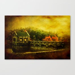 Dam Wall Canvas Print