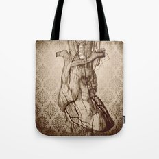 My Wooden Heart Tote Bag
