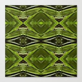 Dew Drop Jewels on Summer Green Grass Canvas Print
