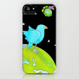"Floating In Space (from the book, ""You, the Magician"") iPhone Case"