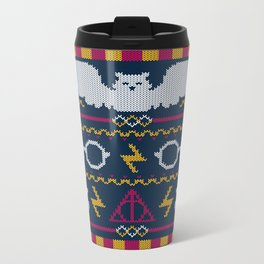 The Sweater That Lived Metal Travel Mug