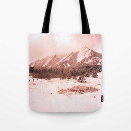 Flatirons (Velvia 100F) Tote Bag