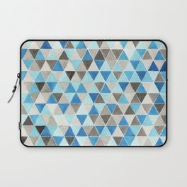 #54. CHRIS - Triangles Laptop Sleeve