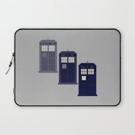 The Materializing TARDIS Laptop Sleeve
