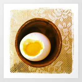 Boiled Egg Art Print
