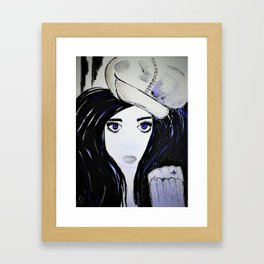 Melinda. Illustrated from the book Tempting Tempo by Author Michelle Mankin. Framed Art Print