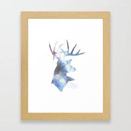 Tekapo Buck Framed Art Print