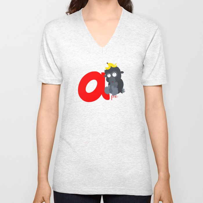 a for ape Unisex V-Neck