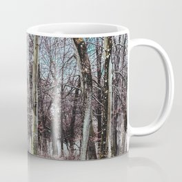 Red leaves and freckles. Can I call you redheads, dear trees? Coffee Mug