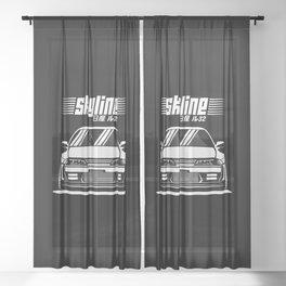 R32 GTR Sheer Curtain