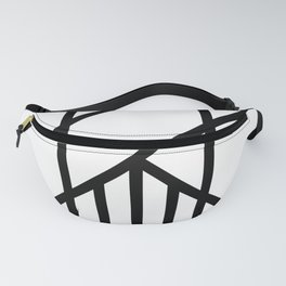Bold Deco Fanny Pack