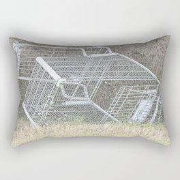 Ditched Rectangular Pillow