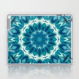 Flower Of Life Mandala (Ocean's Secret) Laptop & iPad Skin