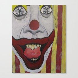 Me Clown  2006 Canvas Print
