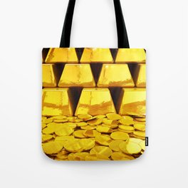 Gold investment Tote Bag