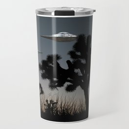 Joshua Tree Space Invasion by C.Reyes Travel Mug