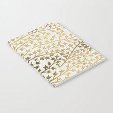 Gold Ivy Notebook