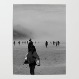 Disappear Into the Fog Poster