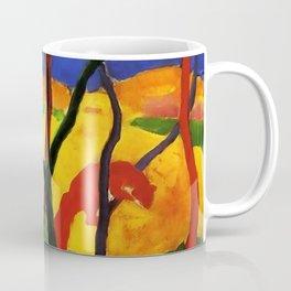 """Franz Marc """"Weasels At Play"""" Coffee Mug"""