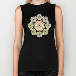 Starflower Blossoms Biker Tank