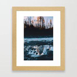 Rising Sun - Kenai Fjords National Park II Framed Art Print