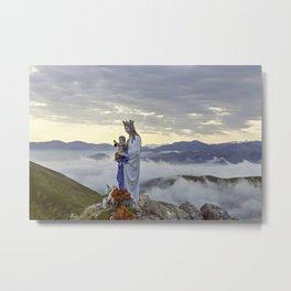 Vierge d'Orisson; Camino Frances Metal Print