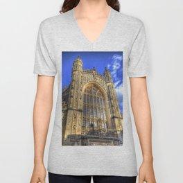 Bath Abbey Unisex V-Neck
