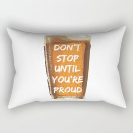 Drink with pride Rectangular Pillow