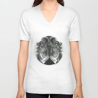 coven V-neck T-shirts featuring Coven by Kimberly Christie