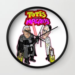 TOTES MAGOATS!  James Earl Jones and Malcolm McDowell, stars of Sprint Ads Wall Clock