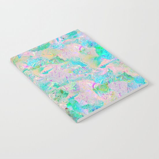 Candied Marble Notebook