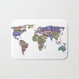 Overdose World Bath Mat