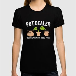 Pot Dealer | Wordplay Pottery T-shirt